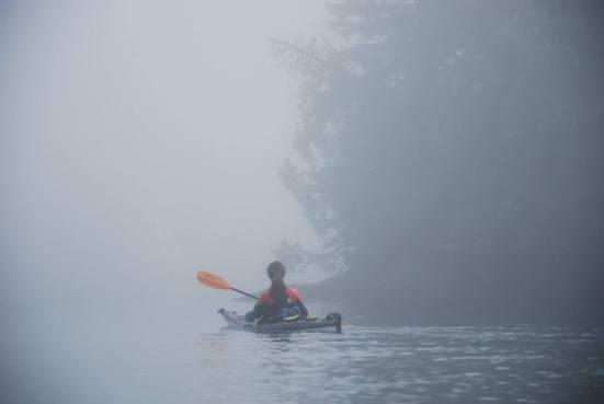 Early morning fog...